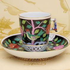 HEREND(ヘレンド) シノワズリ コーヒーカップ(03373) マカオ(MAC) (並行輸入品)