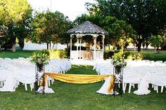 Secret Garden Wedding Decor
