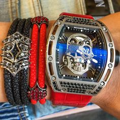 Richard Mille Skull Tourbillon.
