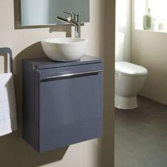 PlaneteBain - Pack meuble lave-mains Florence gris souris avec bol blanc - pas cher Achat / Vente Meubles de salle de bain - RueDuCommerce