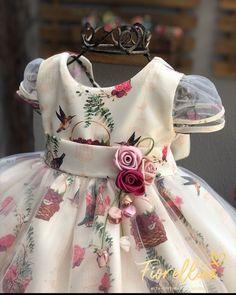 Baby Dress Design, Baby Girl Dress Patterns, Frock Design, Little Dresses, Little Girl Dresses, Girls Dresses, Flower Girl Dresses, Baby Frocks Designs, Kids Frocks