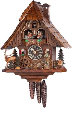 "Käthe Wohlfahrt - Online Shop | ""Hunter"" Black Forest Cuckoo Clock 