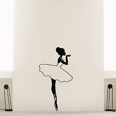 Wall Decal Vinyl Sticker Dancer Girl Ballerina Ballet Dance Decor Sb331 ElegantWallDecals http://www.amazon.com/dp/B011RDS6HM/ref=cm_sw_r_pi_dp_qoFVvb1JDMBJV