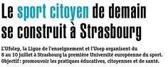 Découvrez cet article pour avoir plus de précisions sur l'#UES2015 ! #Enjeu #ufolep