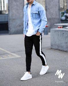 Wrangler Mens Relaxed Fit Jeans with Flex - Men Jeans - Ideas of Men Jeans - Black Skinny Jeans For Men Denim Stretch Slim Fit Jeans Brand Biker St mysho Men Jeans Ideas of Men Jeans Black Skinny Jeans For Men Denim Stretch Slim Fit Jeans Brand Biker St Stylish Mens Outfits, Casual Outfits, Men Casual, Outfits For Men, Smart Casual, Casual Wear, Mode Streetwear, Streetwear Fashion, Jeans Trend