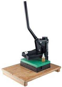 ハンドカッティングプレス - レザークラフト商品・道具・材料の通信販売 I☆N FACTORY