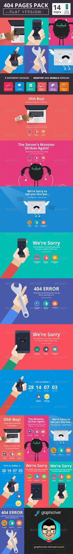 Cool #404 Page Templates and Under Construction Pages http://www.websitetemplates.org/blog/2014/05/cool-404-page-templates-and-under-construction-pages/