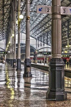 Rossio central railway station -Lisbon -Portugal