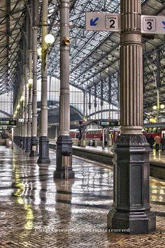 Rossio central railway station -Lisbon -Portugal