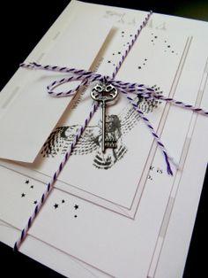 Harry Potter Wedding Invitations 12