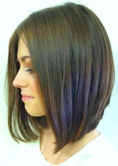 womens hair short back long front