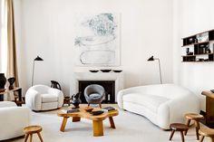 Photo via AD España.    Beautiful Interiors:Emmanuel de Bayser's apartment in Berlin.