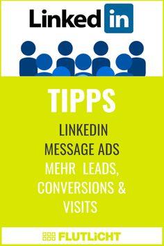 Über #LinkedIn ist eine ideale Plattform im #B2B #Marketing, um mit potenziellen Kunden Kontakt aufzunehmen, #Leads zu generieren oder Besucher*innen auf die Webseite eures B2B Unternehmens zu lenken. Ein geeignetes Tool, das LinkedIn dafür anbietet, sind Message Ads, ehemals bekannt unter Sponsored InMails. Sie werden im LinkedIn Postfach deiner Adressat*innen angezeigt, haben gute durchschnittliche Klick- und Öffnungsraten und können zur Erfolgsmessung getrackt werden. Für mehr Infos… Calm, Messages, Marketing, Blog, Platform, Website, Communication, Things To Do