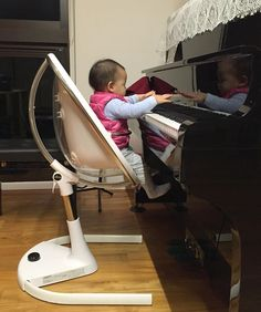 mima high chair australia bedroom french style 64 best images second baby child babies stuff here is little noelle in her moon taiwan it looks like you ve got a budding musician the family