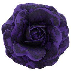 Women's+Black+Lace+Rose+_+Purple+[Black+Lace+Rose+_+Purple]+-+$19.95+:+Sara+Monica,+Sara+Monica+Flowers