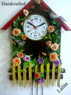 HAND CRAFTED CLOCK - Photos - Polymer Clay Adventure