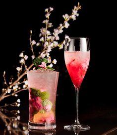 ザ・キャピトルホテル 東急のザ・キャピトル バーにて「桜カクテルフェア」が2016年3月1日(火)から4月30日(土)まで開催。フェア中、2種類のカクテルが登場する。 左)桜モヒート 1...