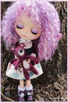 OOAK Custom Blythe doll Face up and Customized Blythe Toys doll girl new licca lovely hand carved