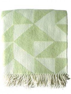 #Decke Twist a Twill Pale Jade Green von Tina #Ratzer