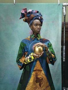 #vlisco #africanprint #africaninspired