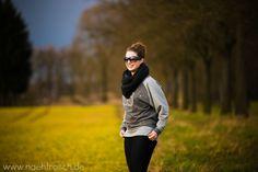 Nähfrosch Oversize Pulli Schnittmuster Alice Sweater von Prülla. Kupferfarbene Akzente Stempel Stoffmalfarbe Kupfer