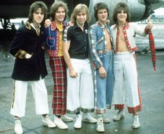 Bay City Rollers in 1975