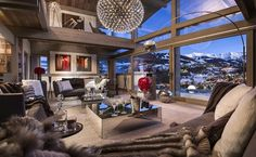 Magical Chalet Mont Blanc Promises a Dream Vacation in the French Alps! - http://www.interiordesign2014.com/other-ideas/magical-chalet-mont-blanc-promises-a-dream-vacation-in-the-french-alps/