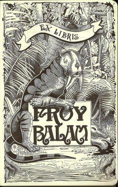 Ex libris Froy-Balam by froybalam.deviantart.com on @deviantART
