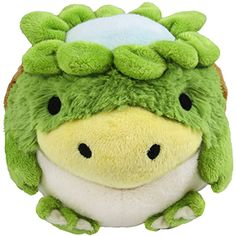 The Limited Mini Kappa is here! A Kappa is a water imp from Japanese mythology, and this one is super cute, from his froggy little legs to his adorable little beak! Kitty K.'s winning Open Squish design is ready for your hugs!
