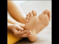Remedios caseros para los talones agrietados y secos - Pies resecos - YouTube