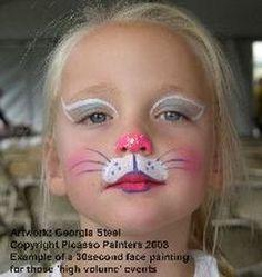 20 Çocuk Yüz Boyama Örneği | Gülselim                                                                                                                                                                                 Mais