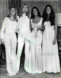 Cher and Greg Allman wedding 1975