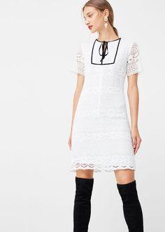 Lace dress - Dresses for Women   MANGO USA