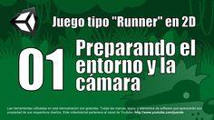 01 - Preparando el entorno y la cámara - Tutorial Unity 2D en español