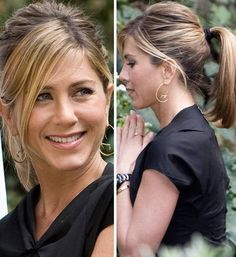 46 Ideas hair bangs style jennifer aniston for 2019 Cabelo Jenifer Aniston, Jennifer Aniston Hair Color, Estilo Jennifer Aniston, Jeniffer Aniston, Jennifer Aniston Pictures, Jennifer Aniston Style, Jennifer Aniston Hairstyles, Hairstyles With Bangs, Braided Hairstyles