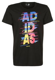 adidas Performance DISPATCH - Camiseta print - black - Zalando.es Camisetas  Disney 9bae71e513bd4