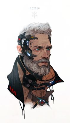 25 super Ideas for science fiction robot cyberpunk Cyberpunk 2077, Cyberpunk Kunst, Character Concept, Character Art, Concept Art Landscape, Drawn Art, Illustrator, Ex Machina, Sci Fi Characters