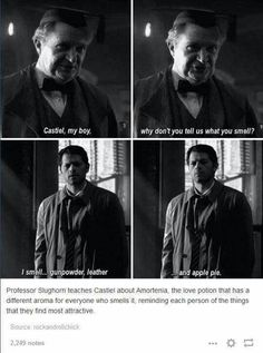 Harry Potter and Supernatural crossover