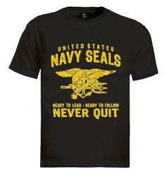 United States Navy Seals T-Shirt Brand new 100% cotton standard weight t-shirt as shown in the picture. Express yourself through our t-shirts and make a statement. Add this item to your shopping cart by choosing the size and color you like. - See more at: http://www.greenturtle.com/Army/Navy/United-States-Navy-Seals-T-Shirt-5061/#sthash.ewjZ1tp1.dpuf
