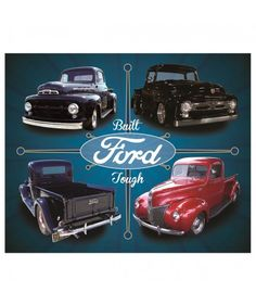 Ford - Quickies Pump & Polish metal print