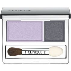 Clinique All About Shadow Duo, 0.07 oz (79 ILS) ❤ liked on Polyvore featuring beauty products, makeup, eye makeup, eyeshadow, blackberry frost, clinique eye shadow, clinique, clinique eyeshadow e clinique eye makeup