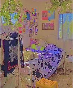 Indie Bedroom, Indie Room Decor, Cute Bedroom Decor, Room Design Bedroom, Aesthetic Room Decor, Room Ideas Bedroom, Aesthetic Indie, Bedroom Inspo, Chambre Indie