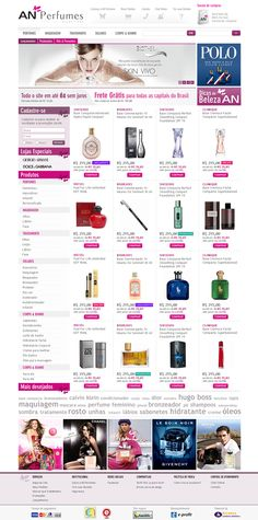Layout Site ANPerfumes