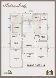 House Plan For 32 Feet By 40 Feet Plot Plot Size 142