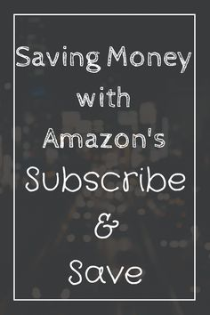 Do you want to save money on everyday household/baby items? Let me show you how!