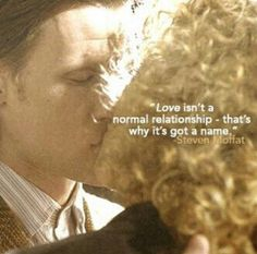 Will I ever stop pinning pictures of the doctor and river? No. Absolutely not.