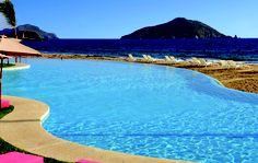 View from the pool at Bel Air Mazatlan