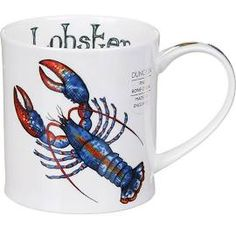 Dunoon Lobster Orkney Shape Mug