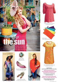 Turn up the sun ~ A bright and bold look for high summer. #locallife #Farnham #Surrey #summer #style #selections #fashion #inspiration #ideas