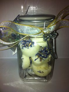 Home made warming ginger bath bombs